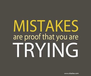 quote, mistakes, and motivation image