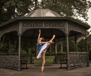 ballerina, point shoes, and ballet image