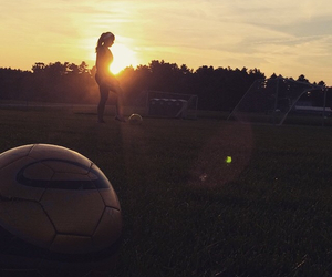 athletes, ponytail, and silhouette image