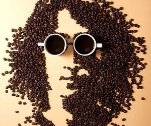 art, coffee, and figures image