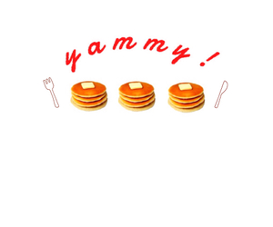 food, pancake, and yammy image