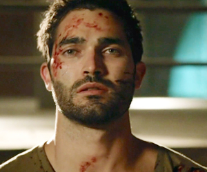 blood, teen wolf, and tyler hoechlin image