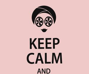 relax, spa, and keep calm image