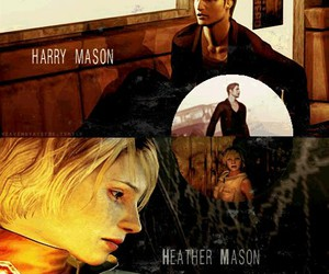 silent hill, heather mason, and silent hill 2 image