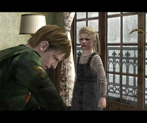 Laura, james sunderland, and silent hill 2 image