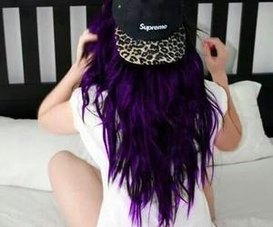 girl, hair, and supreme image