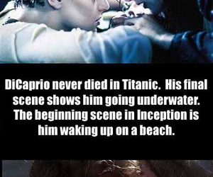 titanic, funny, and inception image