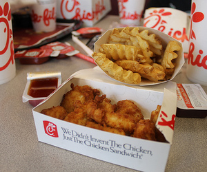 food, chick-fil-a, and Chicken image