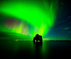 europe, iceland, and northern lights image