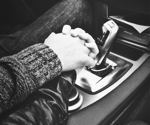love, hands, and car image