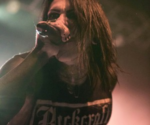 live, motionless in white, and chris motionless image