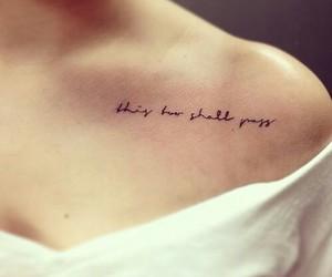 dainty, tattoo, and women image