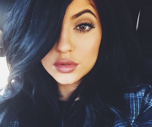kylie jenner, jenner, and lips image