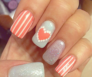 acrylic, girly, and pretty image