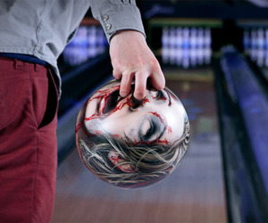 blood, bowling, and funny image