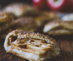 apple, biscuit, and turnover image