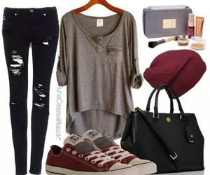 fashion, beauty, and casual image