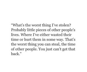 quote, life, and steal image