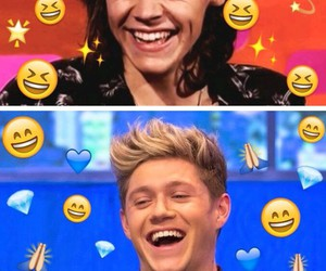 niall horan, Harry Styles, and cute image
