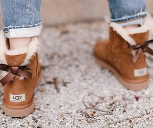 brown, fashion, and ugg image