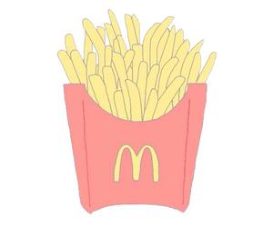 overlay, food, and McDonalds image