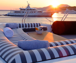 luxury, boat, and summer image