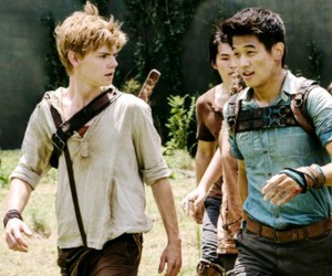 Minho, newt, and the maze runner image
