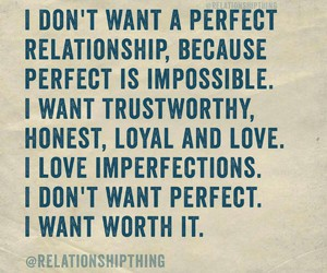 Relationship, worth it, and loyalty image
