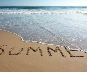 summer, beach, and end image