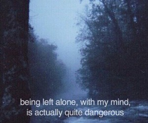 alone, dangerous, and fog image