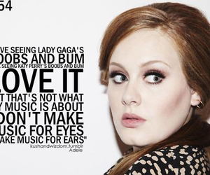Adele, music, and love image
