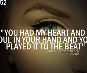 Adele and heart image