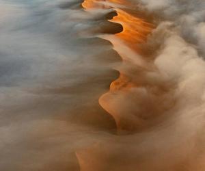 desert, sand, and landscape image