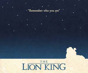 lion king, disney, and poster image