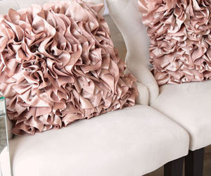 pillows and pink image
