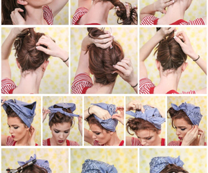 chicas, hair, and girl image