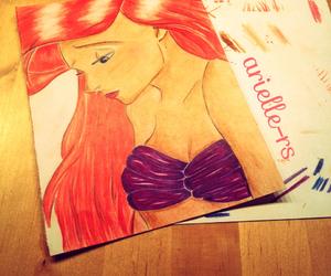 disney, mermaid, and arielle image