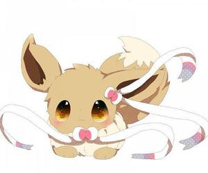 eevee, pokemon, and cute image