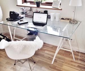 room, interior, and desk image