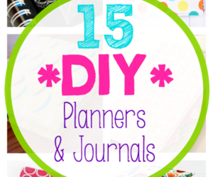 diy, journals, and planners image