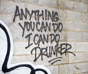 drunk, funny, and quote image