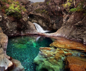 nature, water, and scotland image