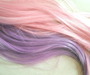 hair, cute, and pastel image