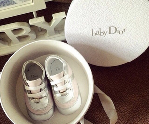 baby, shoes, and dior image