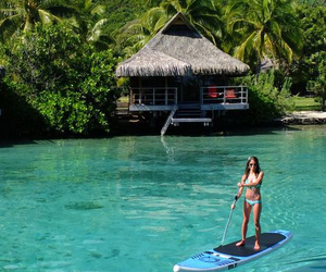 bahamas, bikini, and hawaii image