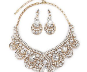 gold bridal jewelry sets image