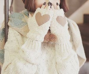 cute, fashion, and winter image