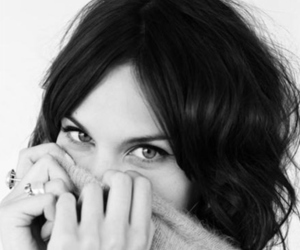 alexa chung, model, and black and white image