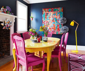 colors, decor, and room image