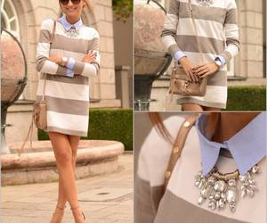 chic, lookbook, and class image